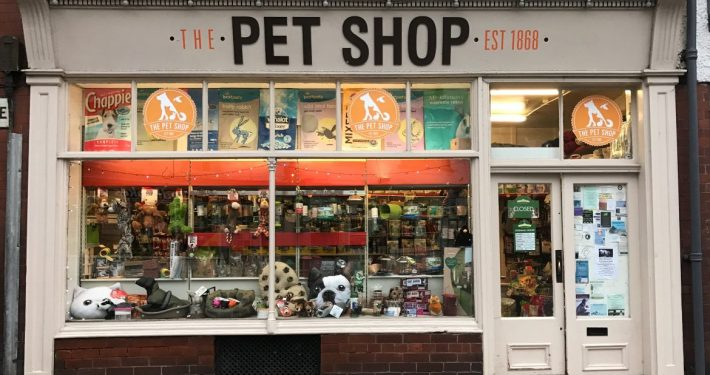 The Pet Shop Ripon Shop Front
