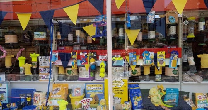 Our window is ready for the Tour de Yorkshire with a new display