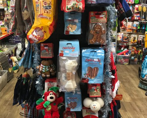 Christmas toys and gifts for dogs