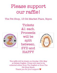 Information about our Raffle for charities