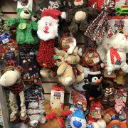 Dog Christmas toys at The Pet Shop Ripon