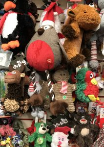 More Christmas toys for you dogs at the Pet Shop Ripon