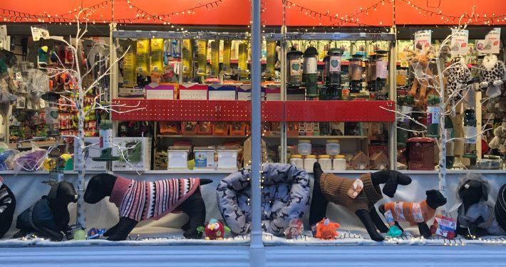 The Pet Shop Ripon Shop window