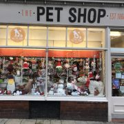 The Pet Shop Ripon, window display