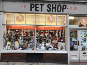 The Pet Shop Ripon, window display