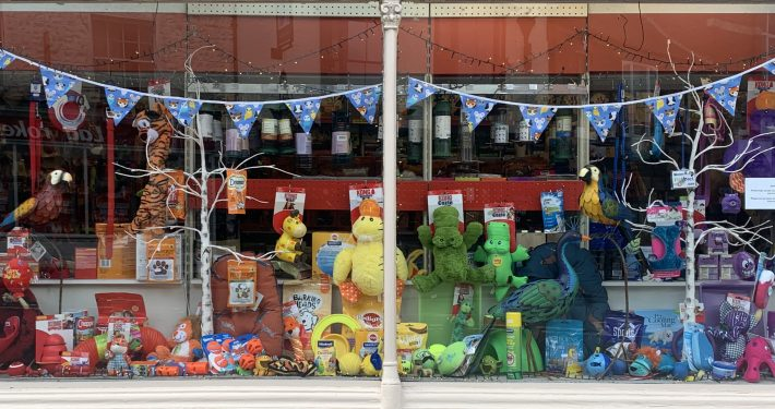 The Pet Shop Ripon window display