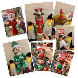Kong Christmas dog toys